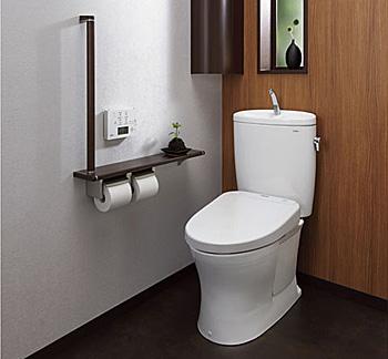 タンク式トイレ TOTOピュアレスト
