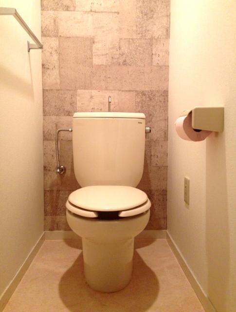 タンク式トイレ